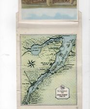 CANADA STEAMSHIP LINES foldout map and pictures MONTREAL SAGUENAY