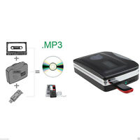 Tape to PC USB Cassette MP3 CD Converter Capture Digital Audio Music Player hot