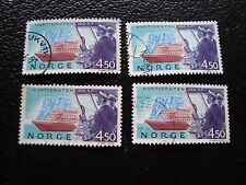 NORVEGE - timbre yvert et tellier n° 1085 x4 obl (A30) stamp norway (A)