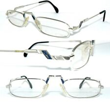 da4acec44316 CAZAL 736 BRILLE SILBER BLAU LESEBRILLE LEGENDS HERREN 163 DAMEN MADE  GERMANY