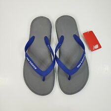 NWT New Balance Flip Flops Sandals Men's 11 Blue Gray Pro Thong Slip On M6076