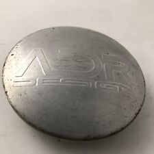 (1) ADR DESING WHEELS Polished CENTER CAP COVER RIMS #: ADR-78