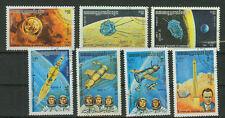 Briefmarken Kambodscha 1984 Raumfahrt Mi.Nr.560-66