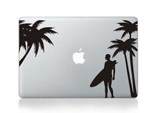 "Beach Surfer Laptop Apple Macbook Decal Sticker Macbook Air/Pro/Retina 13""15""17"""