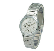 -Casio LTPV300D-7A Ladies' Metal Fashion Watch Brand New & 100% Authentic