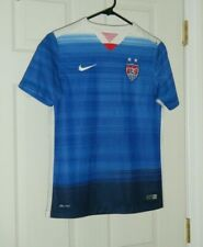 US Women's National Soccer Team 2015 Nike World Cup Jersey Girl Size Large Used