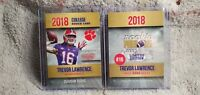 Trevor Lawrence 2018 Rookie Phenoms College Rookie ACEO Card Clemson Tigers