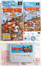 SUPER DONKEY KONG 2 Nintendo Super Famicom SFC SNES Card Japan (1)