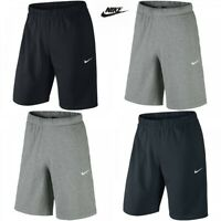 Mens Nike Short Crusader Cotton Casual Training Gym Sports Shorts Knee Length