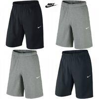 Mens Nike Short Crusader Cotton Casual Training Gym Sports Shorts Knee Length