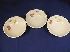 Set of 3 Fruit Dessert Bowls AUTUMN by Franciscan.Excellent Condition  (Loc 150)
