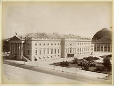 Deutschland, Berlin, Kgl. Opernhaus  Vintage albumen print. Vintage Germany  T