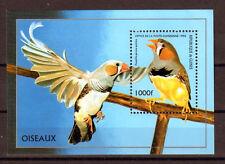 OISEAU SUR UNE BRANCHE Guinée 1 bloc ** NEUF PORT OFFERT - BIRD VOGEL UCCELLO