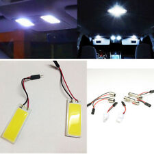 48 SMD T10 4W COB Panel Lights LED Car Interior 12V Lamp Bulb Dome White Light #