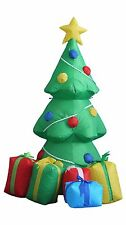 5 Foot Tall Lighted Air Blown Inflatable Christmas Tree Yard Graden Decoration