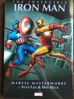 MARVEL MASTERWORKS THE INVINCIBLE IRON MAN by STAN LEE & DON HECK TPB