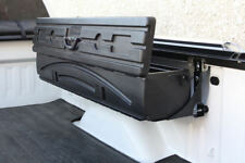All-In-One Truck Bed Side Mount Tool Box, Wheel Well Storage, and Gun Case!