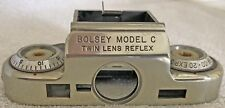 Bolsey Model C Twin Lens Reflex Top Plate