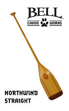 "Northwind Straight Canoe Paddle 54"" Made In USA By Mitchell Paddles W/20 ounces"