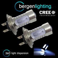 2X H7 LED CREE BIANCO FARO ANTERIORE FANALI LAMPADINE KIT AUTO XENON HL501401