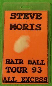 Steve Moris All Excess Pass Comedian Hairball Tour 93 Waylon Jennings Beach Boys