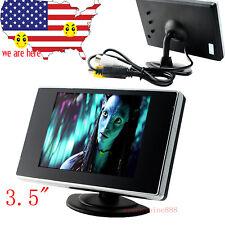 "Mini 3.5"" TFT LCD Color Screen Car Video Rearview Monitor Camera For Car Backup"