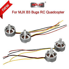 2pcs CW+2pcs CCW Brushless Motor Engine Spare Parts For MJX B3 Bugs 3 RC Drone