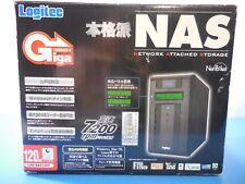 Logitec NetPocket LHD-NAS120V Network Attached Storage NAS 120GB