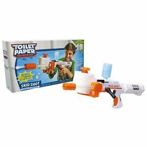 Toilet Paper Blaster Skid Shot Gun