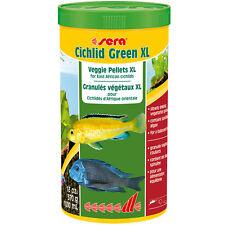Sera Cichlid Green XL 13oz 1000mL Fish Food Veggie Pellet East African Cichlids