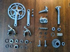 Vintage Campagnolo Chorus Groupset, Campagnolo Record Cassette 8 Speed, 3T Stem