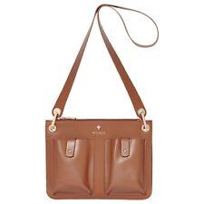 Modalu Carter Small Tan Leather Shoulder Bag