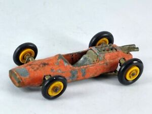 LOTUS F1 RACING CAR ~ Matchbox Lesney No. 19 D ~ Made in England in 1966. ORANGE