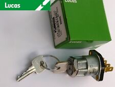 Lucas S45, 30608 Ignition Switch Fits; Triumph TR6, Boneville T120, BSA A50 A65