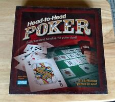 NEW HEAD TO HEAD POKER PARKER BROTHERS BOARD GAME SIX DIFFERENT GAMES IN ONE FUN
