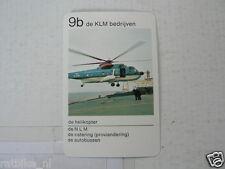 65-KLM AIRPLANE 9B DE HELIKOPTER DE KLM BEDRIJVEN