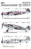 AML Models Decals 1/32 MESSERSCHMITT Bf-109K-4 with Resin Wheels Part 1