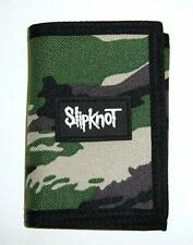 Slipknot Camo Hook & Loop Closure Nylon Tri-Fold Wallet