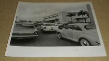 1966 Press Photo Christmas Mail Rush St. Petersburg Post Office Parking Florida