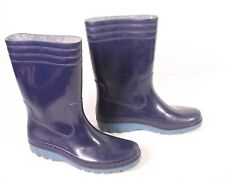 17S Romika Damen Gummistiefel blau Gr. 38 Vintage Rubber Boots