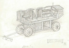 Mitch Byrd War Wagon Gaming Comic Book Art RPG Original Gaming Illustration