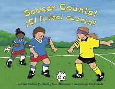 Soccer Counts!  El Futbol Cuenta!-ExLibrary