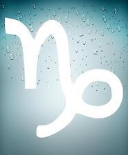 Adesivi adesivo sticker segno zodiacale astrologia macbook mac capricorno bianco