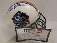 Bart Starr (Died 2019) Autographed Hall of Fame Mini Helmet – TRISTAR Cert