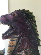 HALLOWEEN SCARY MASK OF DINOSAUR TRICERATOPS