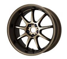 WORK EMOTION D9R 10.5J-19 +15 5x114.3 Ash-Titanium set of 4 wheels from JAPAN