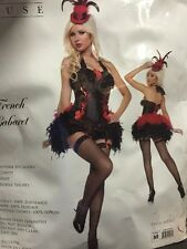 French Cabaret Costume Size Medium By Mystery House