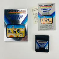 Gangster Alley - Atari 2600 Spectravideo 1983 Silver Box NTSC Complete CIB Nice!