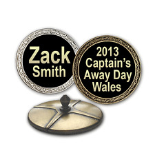 Best Impressions Personalised Big Ball Markers D28mm 2 Pack Different Colours