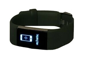 Fitbit Charge 2 Fitness watch Activity Tracker Green Used Watch & Charger Only